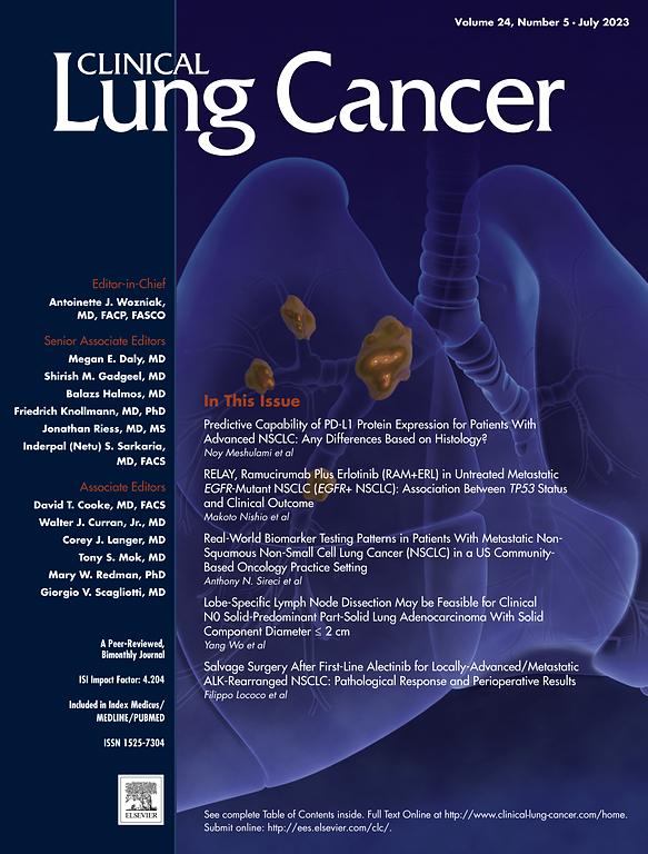 LUNG CANCER JOURNAL PDF