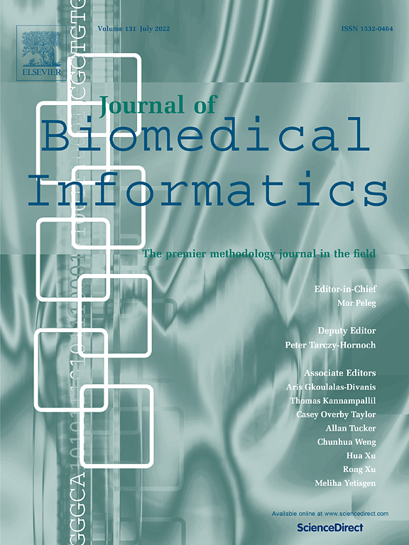 Journal of Biomedical Informatics | Special Issue: Ambient