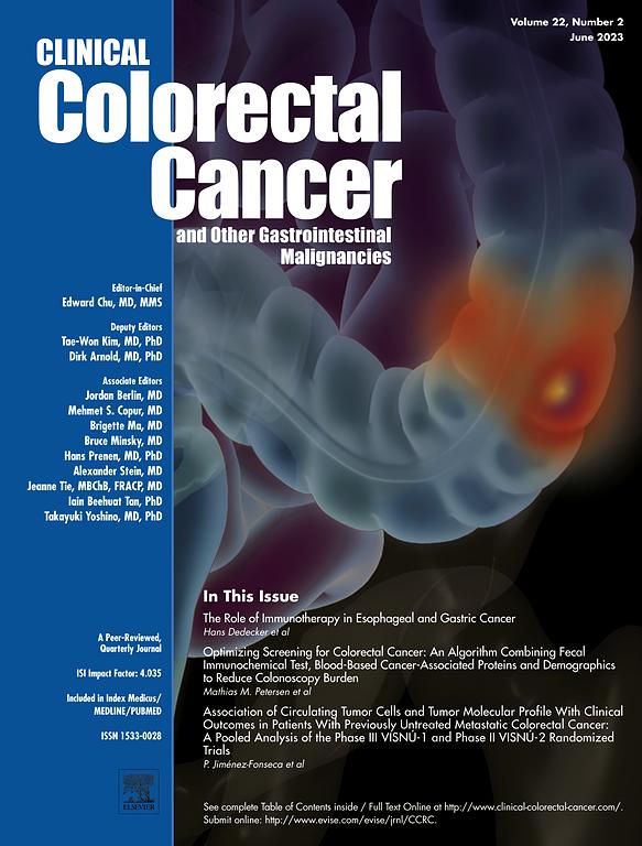 Clinical Colorectal Cancer Journal Elsevier