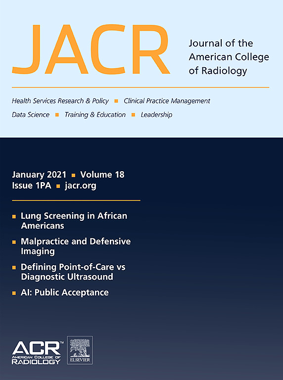 Image result for journal of the american college of radiology