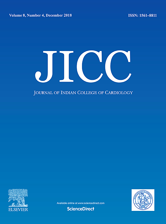 Journal of Indian College of Cardiology | ScienceDirect com