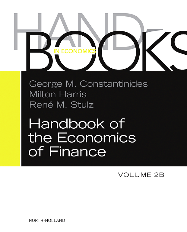 Handbook of the Economics of Finance: Financial Markets and Asset Pricing Volume 1B