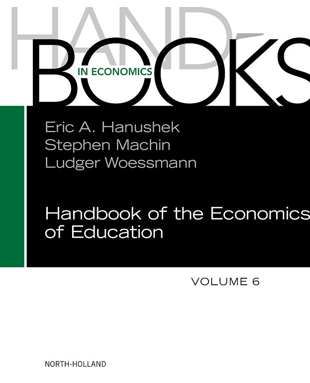 Handbook of the Economics of Education   ScienceDirect com