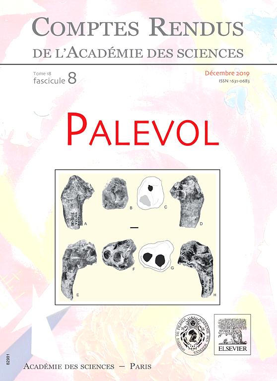 COMPTES RENDUS PALEVOL