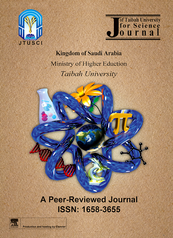 journal of taibah university for science sciencedirect com