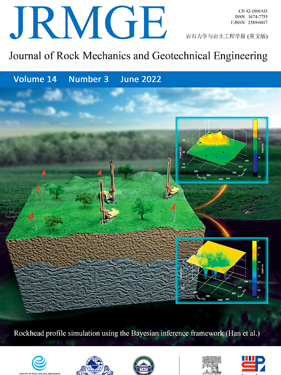 Cover image Journal of Rock Mechanics and Geotechnical Engineering