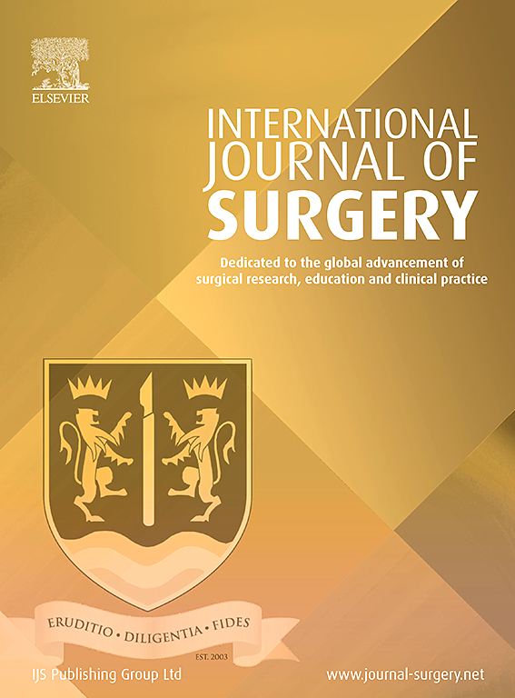 International Journal of Surgery | ScienceDirect com
