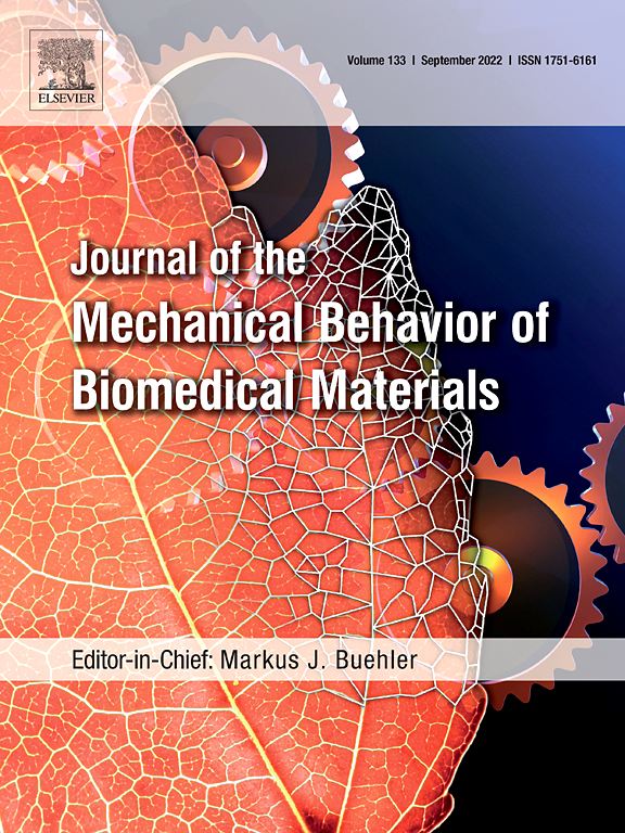 Journal Of The Mechanical Behavior Of Biomedical Materials Elsevier