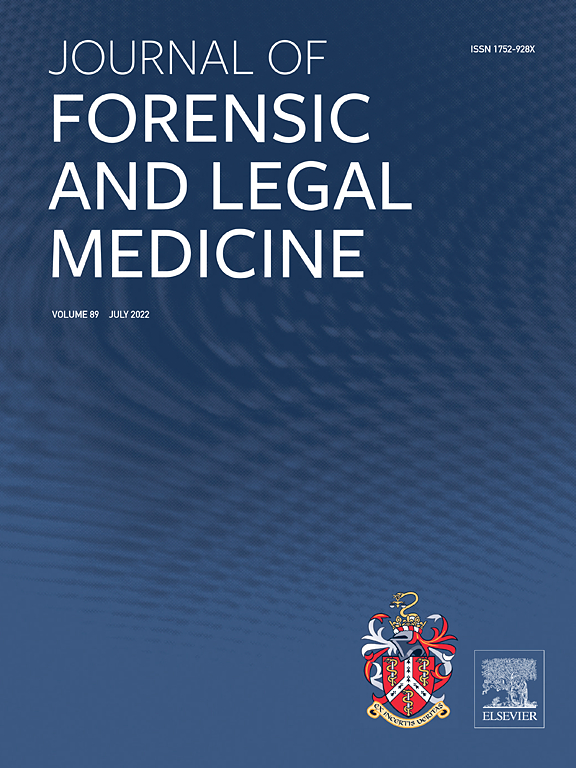 Journal Of Forensic And Legal Medicine Elsevier