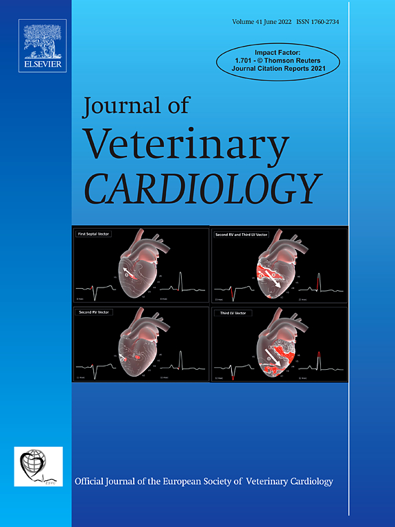 Journal of Veterinary Cardiology | ScienceDirect com