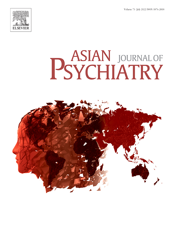 Asian Journal of Psychiatry | ScienceDirect com