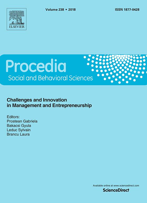procedia social and behavioral sciences sciencedirect com