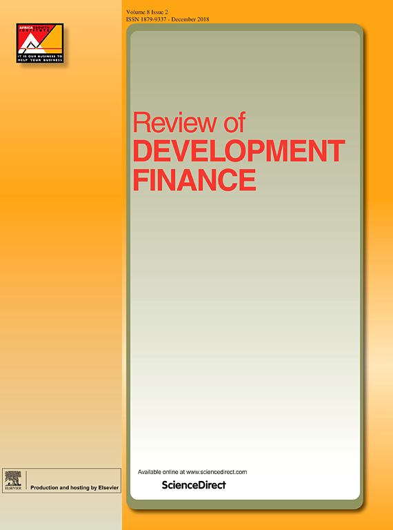 Cover image Review of Development Finance