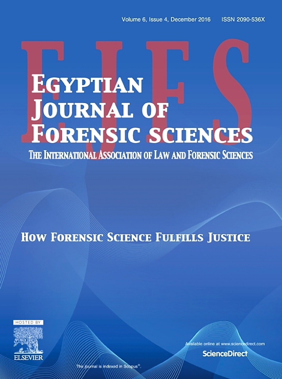 Egyptian Journal Of Forensic Sciences Sciencedirect Com By Elsevier