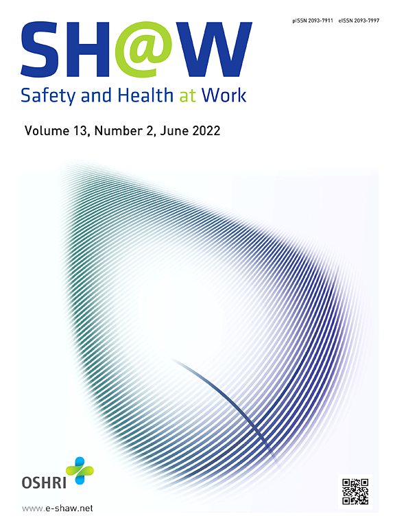 Cover image Safety and Health at Work