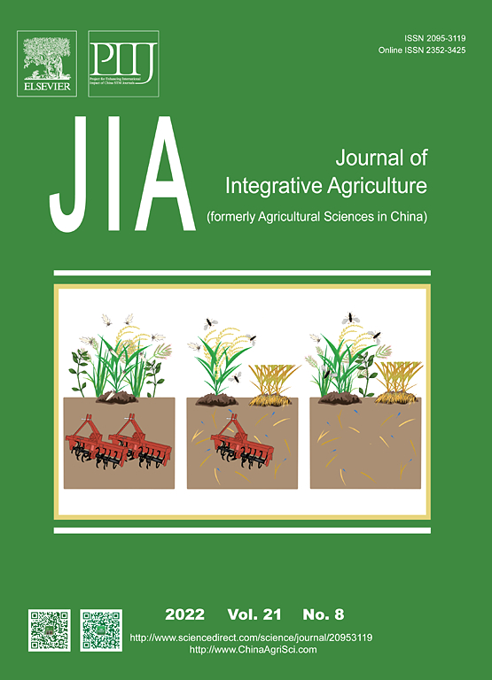 Journal of Integrative Agriculture | ScienceDirect com