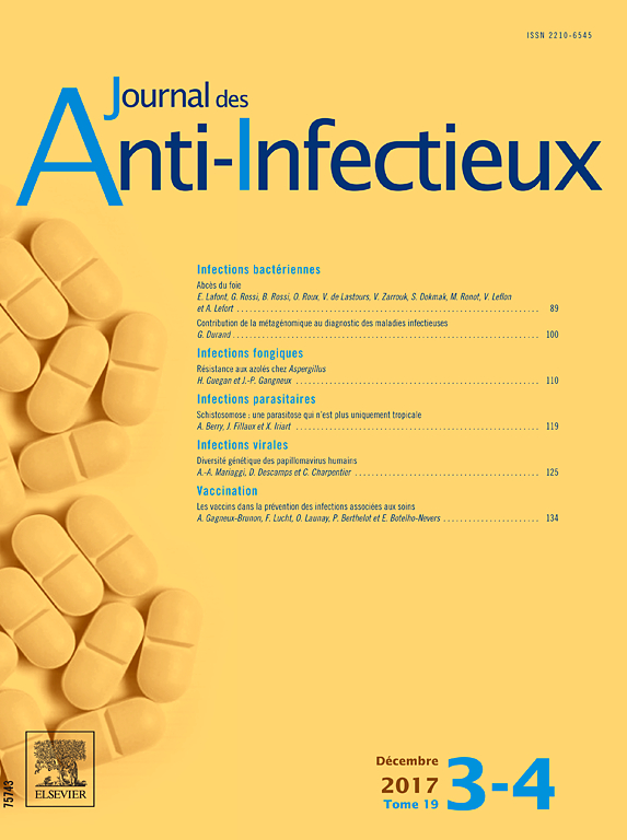 JOURNAL DES ANTI INFECTIEUX
