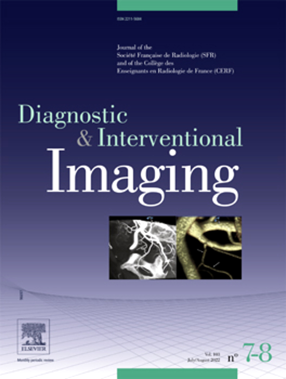 Go to journal home page - Diagnostic and Interventional Imaging