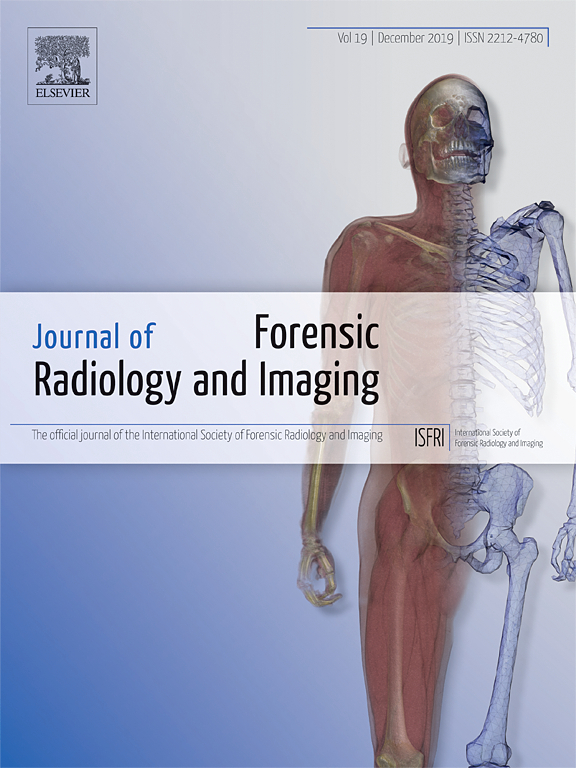 Journal Of Forensic Radiology And Imaging Sciencedirect