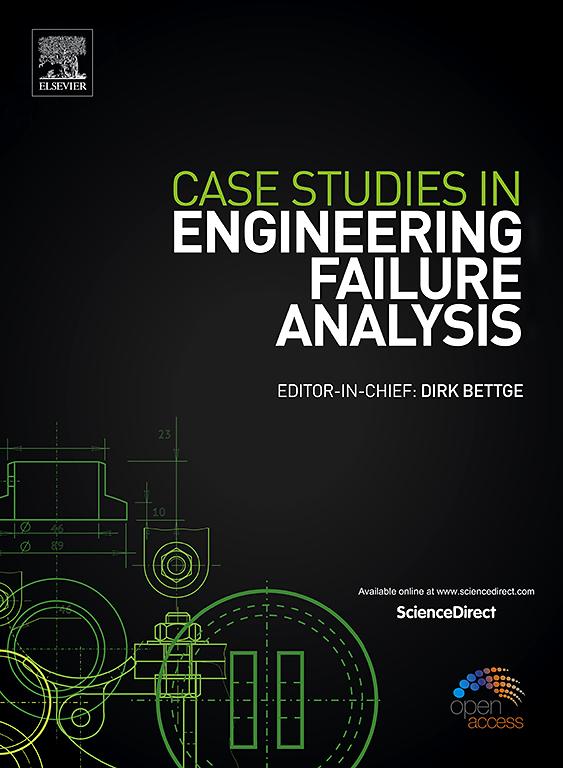 Case Studies in Engineering Failure Analysis | Journal
