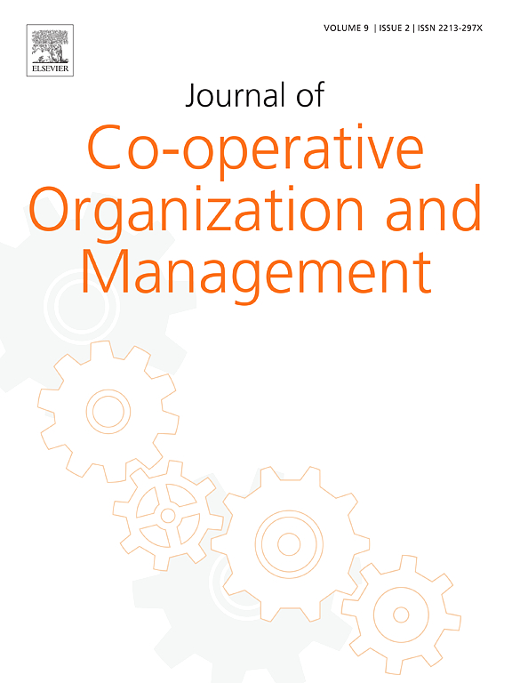 Management Of Co-Operatives