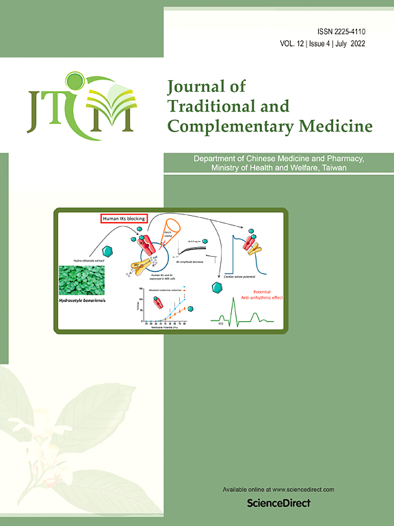 Journal of Traditional and Complementary Medicine