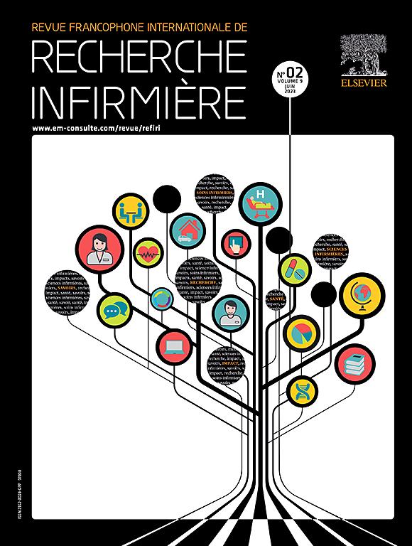 Revue Francophone Internationale De Recherche Infirmiere Journal Elsevier
