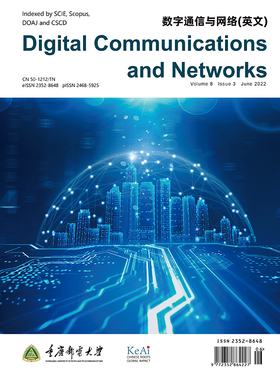 Cover image Digital Communications and Networks