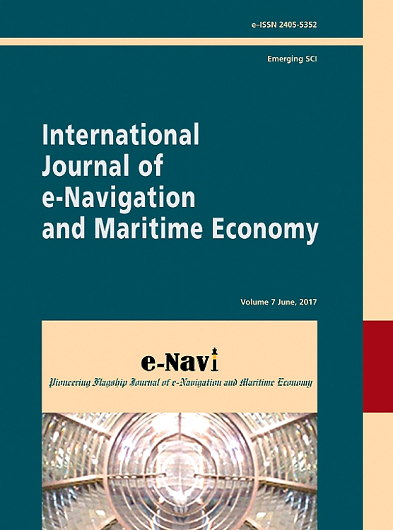 Cover Image International Journal Of E Navigation And Maritime Economy