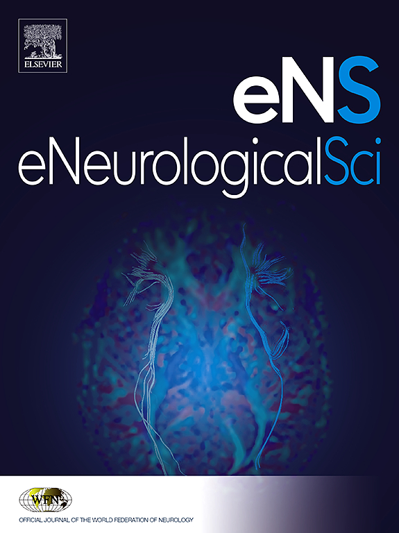Home Page: Journal of the Neurological Sciences