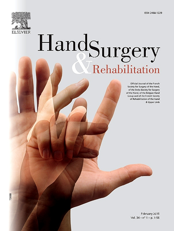 hand surgery and rehabilitation sciencedirect com
