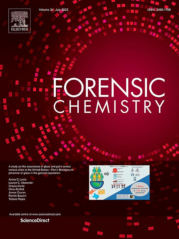 Forensic Chemistry Journal Elsevier