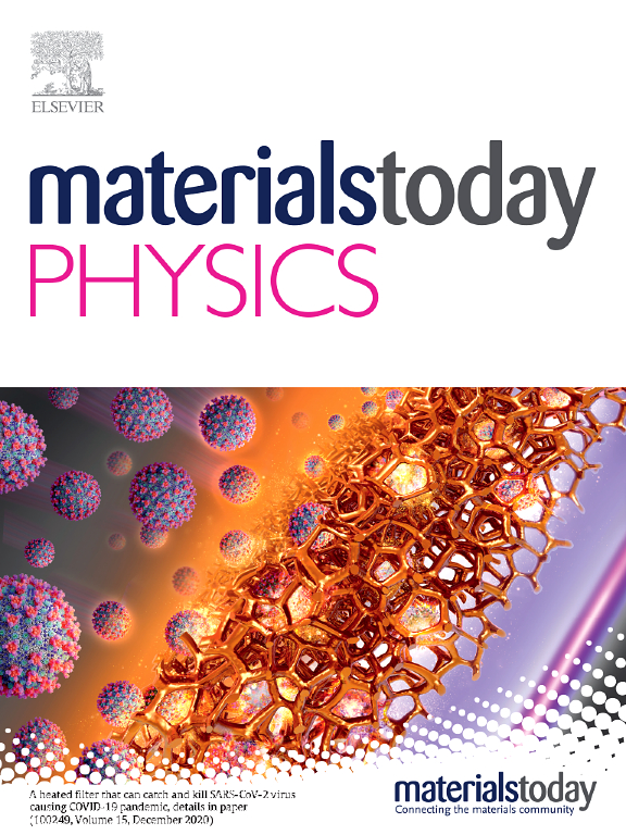 Materials Today Physics | Journal | ScienceDirect com