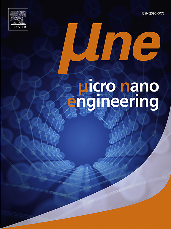 Micro And Nano Engineering Journal Elsevier