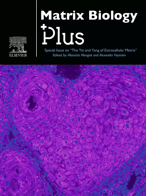 Cover image Matrix Biology Plus