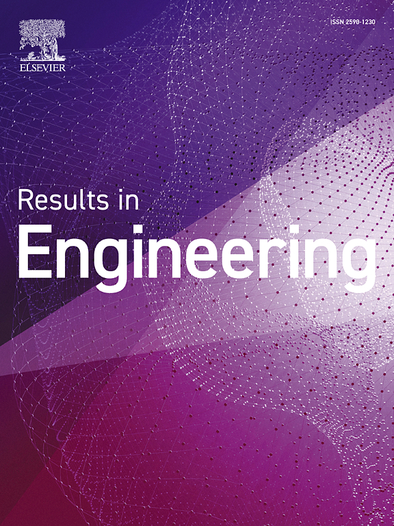 Results In Engineering Journal Elsevier
