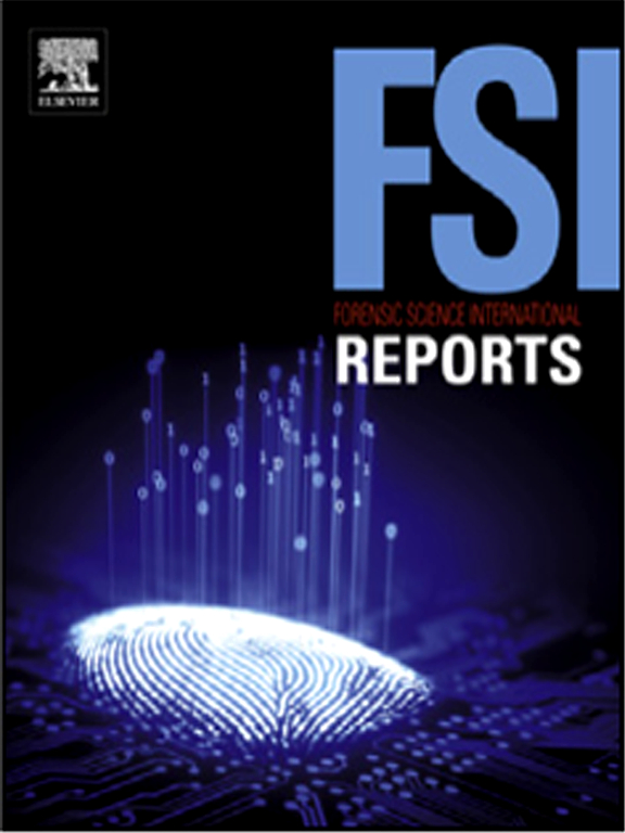 Forensic Science International Reports Journal Elsevier
