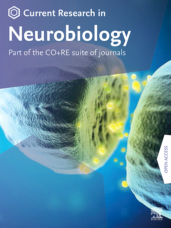 Cover image Current Research in Neurobiology