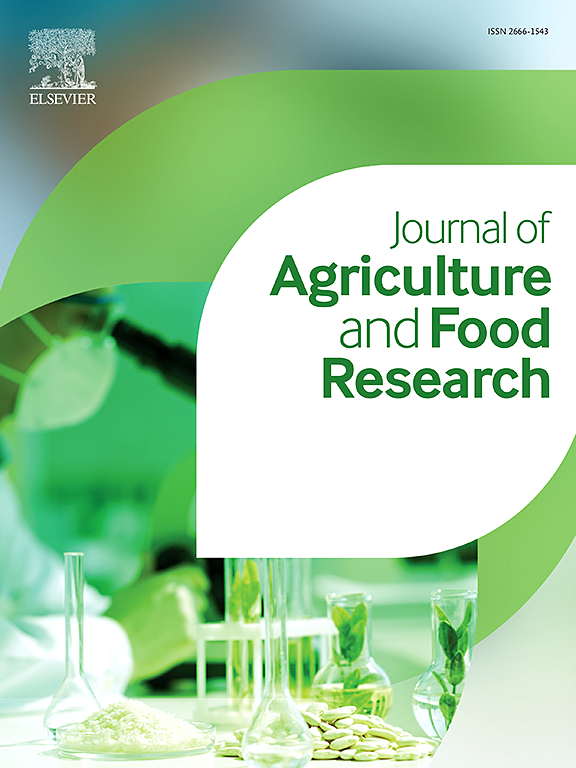 Journal Of Agriculture And Food Research Elsevier