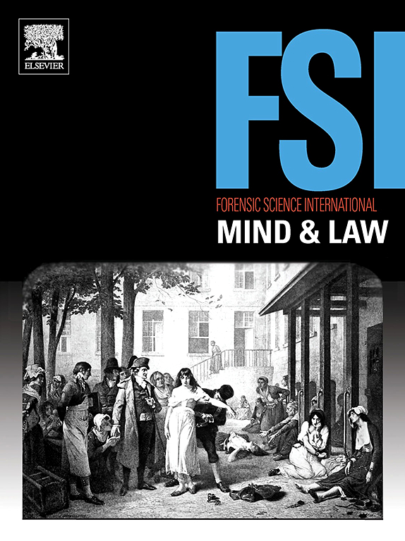 Forensic Science International Mind And Law Journal Elsevier