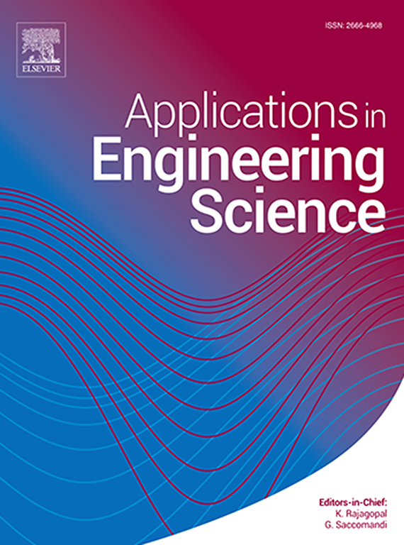 Applications In Engineering Science Journal Sciencedirect Com By Elsevier