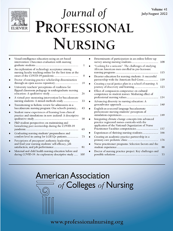 Journal of Professional Nursing | ScienceDirect com